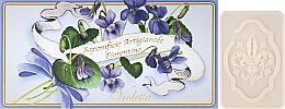 Düfte, Parfümerie und Kosmetik Veilchen Seifen-Set 3 St. - Saponificio Artigianale Fiorentino Violet(Soap/3x125g)