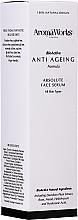 Düfte, Parfümerie und Kosmetik Feuchtigkeitsspendendes regenerierendes und beruhigendes Anti-Aging Gesichtsserum mit Kollagen - AromaWorks Absolute Face Serum