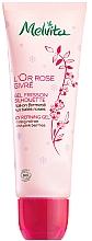 Düfte, Parfümerie und Kosmetik Straffendes Bio-Körpergel mit kühlender Wirkung - Melvita L'Or Rose Givre Organic Icy Refining Gel