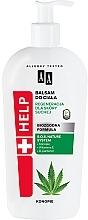 Düfte, Parfümerie und Kosmetik Regenerierender Körperbalsam für trockene Haut mit Hanf - AA Help