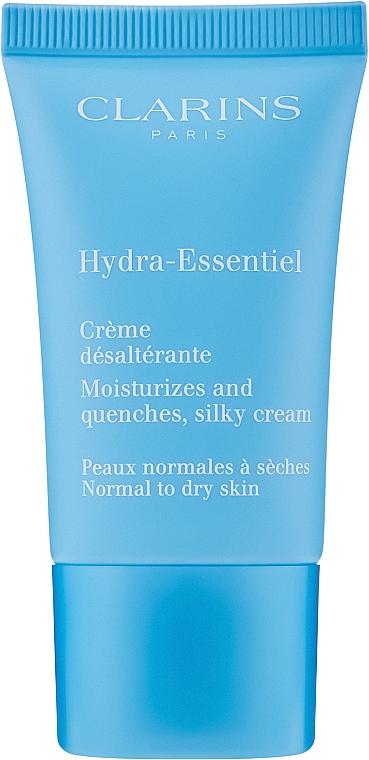 Intensiv feuchtigkeitsspendende Gesichtscreme - Clarins Hydra-Essentiel Normal to Dry Skin Cream