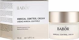 Düfte, Parfümerie und Kosmetik Leichte 24h Pflegecreme zur Reduzierung von Mimikfältchen - Babor Mimical Control Cream