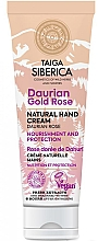 Düfte, Parfümerie und Kosmetik Handschutzcreme Daurian Rose - Natura Siberica Doctor Taiga Hand Cream