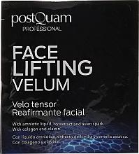 Düfte, Parfümerie und Kosmetik Lifting-Tuchmaske mit Kollagen, Elastin und Fruchtwasserextrakt - Postquam Face Lifting Velum