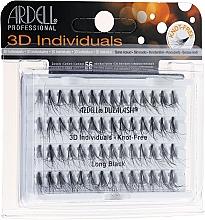 Düfte, Parfümerie und Kosmetik Wimpernbüschel - Ardell Duralash 3D Individuals Long Black 345100
