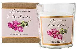 Düfte, Parfümerie und Kosmetik Duftkerze Rose - Ambientair Le Jardin de Julie Rose de Mai