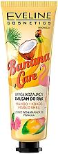 """Düfte, Parfümerie und Kosmetik Glättende Handcreme """"Mango, Kokos und Sheabutter"""" - Eveline Cosmetics Banana Care"""