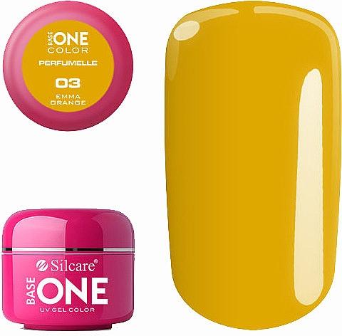 Parfümiertes Nagelgel - Silcare Base One Perfumelle UV Gel Color
