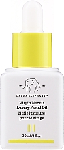 Düfte, Parfümerie und Kosmetik Regenerierendes und feuchtigkeitsspendendes Gesichtsöl mit reinem Marulafrucht-Sammenextrakt - Drunk Elephant Virgin Marula Luxury Facial Oil