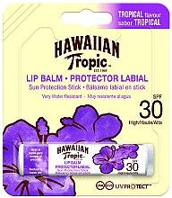 Düfte, Parfümerie und Kosmetik Sonnenschützender Lippenbalsam mit tropischem Geschmack SPF 30 - Hawaiian Tropic Lip Balm SPF 30