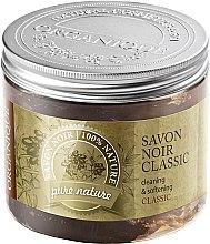 Düfte, Parfümerie und Kosmetik Natürliche schwarze Seife mit Olive - Organique Savon Noir Cleaning&Softening