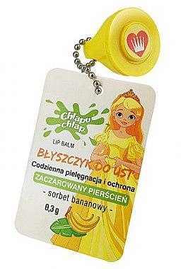 Lippenbalsam mit Bananeduft Prinzessin - Chlapu Chlap Lip Balm — Bild N1