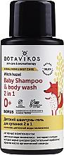 Düfte, Parfümerie und Kosmetik 2in1 Shampoo-Duschgel für Kinder mit Hamamelis - Botavikos Baby Shampoo And Body Wash 2 in 1