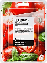 Düfte, Parfümerie und Kosmetik Revitalisierende Tuchmaske mit Tomatenextrakt - Superfood For Skin Revitalizing Sheet Mask