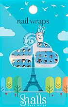 Düfte, Parfümerie und Kosmetik Dekorative Nagelsticker - Snails Nail Wraps (10 St.)
