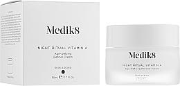 Düfte, Parfümerie und Kosmetik Anti-Aging Gesichtscreme für die Nacht mit Vitamin A - Medik8 Night Ritual Vitamin A