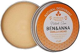 Düfte, Parfümerie und Kosmetik Natürliche Deo-Creme mit Vanille und Orchidee - Ben & Anna Vanilla Orchid Soda Cream Deodorant