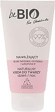 Düfte, Parfümerie und Kosmetik Feuchtigkeitsspendende Gesichtscreme für Tag und Nacht mit weißem Tee und Vitamin E - BeBio Natural Day/Night Moisturizing Face Cream