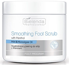 Düfte, Parfümerie und Kosmetik Glättendes Fußpeeling mit Menthol - Bielenda Professional Foot Program