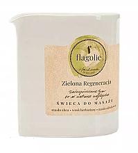 Düfte, Parfümerie und Kosmetik Massagekerze Green Regeneration - Flagolie Green Regeneration Massage Candle