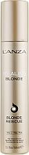 Düfte, Parfümerie und Kosmetik Regenerierende Haarcreme für entfärbtes Haar - L'anza Healing Blonde Rescue
