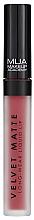 Düfte, Parfümerie und Kosmetik Langanhaltender flüssiger Lippenstift - MUA Academy Velvet Matte Long-Wear Liquid Lip