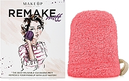 Düfte, Parfümerie und Kosmetik Handschuh zum Abschminken ReMake korallenrot - MakeUp
