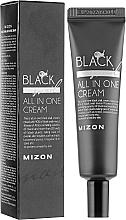 Düfte, Parfümerie und Kosmetik Feuchtigkeitsspendende, reparierende und porenverfeinernde Gesichtscreme mit schwarzem Schneckenfiltrat - Mizon Black Snail All In One Cream (Tube)