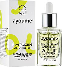 Düfte, Parfümerie und Kosmetik Revitalisierendes Gesichtsserum mit Vitaminen - Ayoume Vita Tree Recovery Serum