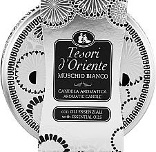 Düfte, Parfümerie und Kosmetik Tesori d`Oriente White Musk - Duftkerze Weißer Moschus