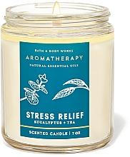 Düfte, Parfümerie und Kosmetik Bath and Body Works Eucalyptus Tea Stress Relief - Anti-Stress Duftkerze Eukalyptus und Tee