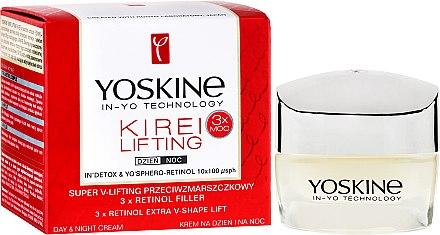 Tag und Nacht-Gesichtscreme - Yoskine Kirei Lifting 3 x Retinol Complex