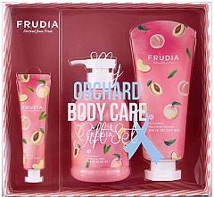 Düfte, Parfümerie und Kosmetik Körperpflegeset - Frudia My Orchard Peach Body Care Gift Set (Cremiges Duschgel 300ml + Körperessenz 200ml + Handcreme 30g)