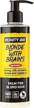"""Düfte, Parfümerie und Kosmetik Haarspülung """"Blonde With Brains"""" für blondes Haar - Beauty Jar Balm For Blond Hair"""