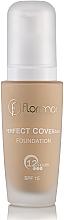 Düfte, Parfümerie und Kosmetik Foundation - Flormar Perfect Coverage Foundation