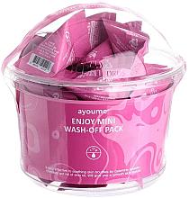 Düfte, Parfümerie und Kosmetik Gesichtsmasken-Set mit Kalaminpulver - Ayoume Enjoy Mini Wash-Off Pack