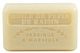 Düfte, Parfümerie und Kosmetik Handgemachte Naturseife mit Traubenkernöl und Sheabutter - Foufour Savonnette Marseillaise Huile de Pepin de Raisin