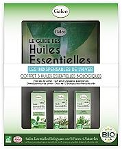 Düfte, Parfümerie und Kosmetik Set mit ätherischen Ölen für Winter - Galeo Vital Oils For Winter (Ätherisches Öl 3x10ml)