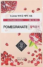 Düfte, Parfümerie und Kosmetik Revitalisierende Gesichtsmaske mit Granatapfel-Extrakt - Etude House Therapy Air Mask Pomegranate