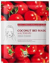 Düfte, Parfümerie und Kosmetik Antioxidative Maske mit Tomatenextrakt für matte Haut - Leaders Coconut Bio Tomato Mask