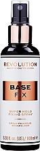 Düfte, Parfümerie und Kosmetik Make-up-Fixierer - Makeup Revolution Base Fix Super Hold Fixing Spray