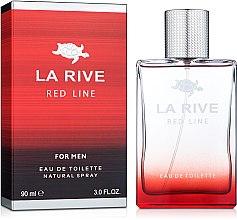 Düfte, Parfümerie und Kosmetik La Rive Red Line - Eau de Toilette