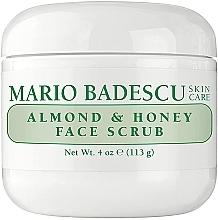 Düfte, Parfümerie und Kosmetik Gesichtspeeling mit Mandel und Honig - Mario Badescu Almond & Honey Non Abrasive Face Scrub