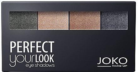 Lidschatten-Quartett - Joko Perfect Your Look Quattro Eye Shadows New
