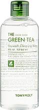 Düfte, Parfümerie und Kosmetik Gesichtsreinigungswasser mit grünem Tee - Tony Moly The Chok Chok Green Tea No-Wash Cleansing Water