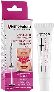 Lippenserum mit Glanzeffekt und Hyaluronsäure - DermoFuture Lip Injection Glass Glow