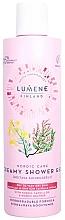 Düfte, Parfümerie und Kosmetik Sanftes feuchtigkeitsspendendes Creme-Duschgel für trockene bis sehr trockene Haut - Lumene Nordic Care Creamy Shower Gel