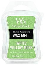 Düfte, Parfümerie und Kosmetik Tart-Duftwachs White Willow Moss - WoodWick Mini Wax Melt White Willow Moss Smart Wax System