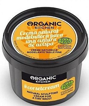 Modelierende Körpercreme für Taille mit Bienenwachs und Orange-Extrakten - Organic Shop Organic Kitchen Corsetcream