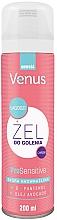 Düfte, Parfümerie und Kosmetik Rasiergel für empfindliche Haut mit Avocadoöl und D-Panthenol - Venus Pro Sensitive